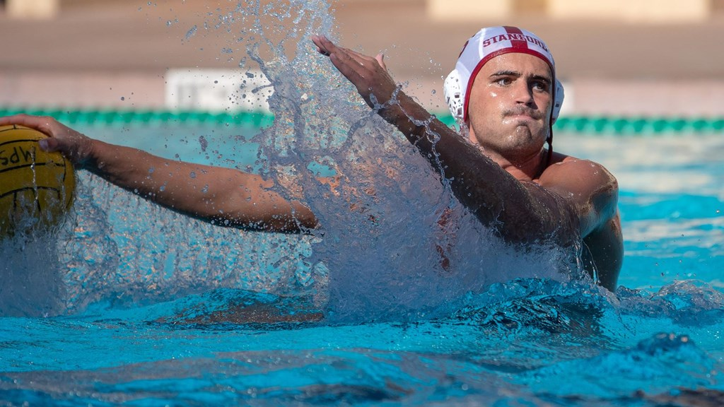 Stanford's Ben Hallock Repeats as Division I Water Polo Player of the Year