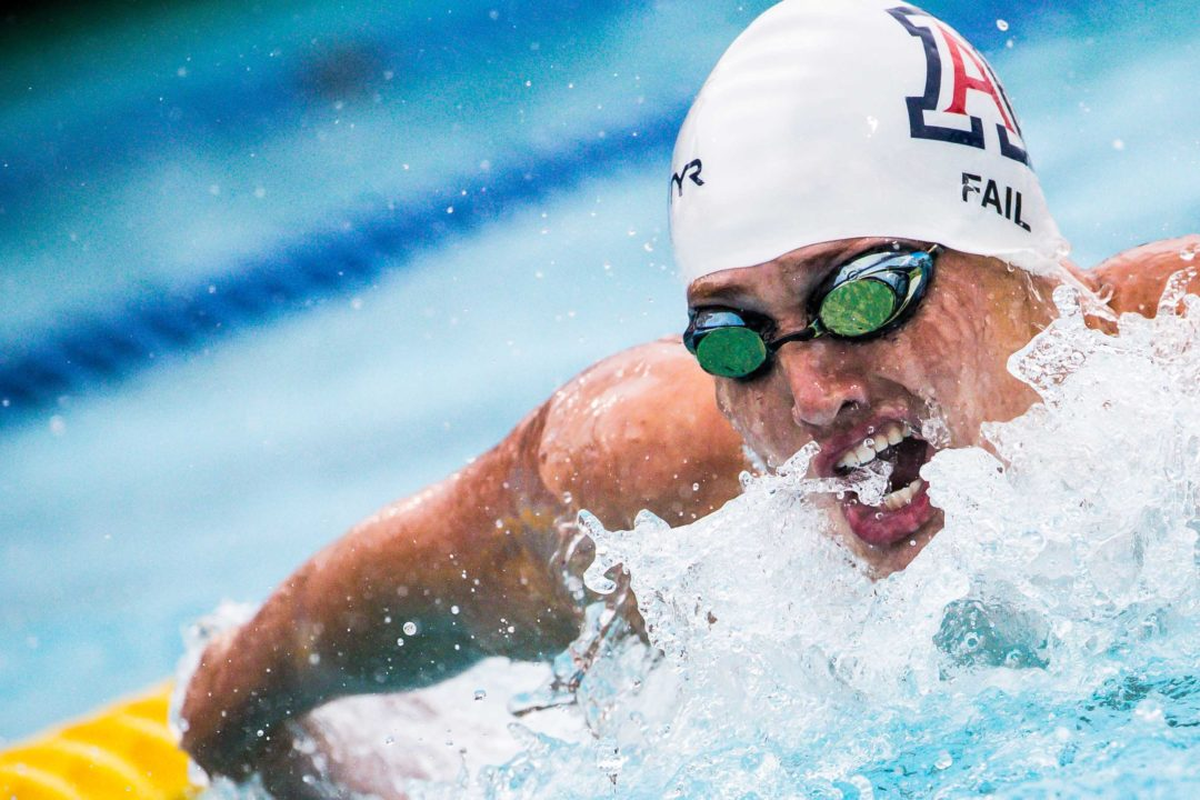 College Swimming Previews: #10 Arizona Men Building Elite IM Group