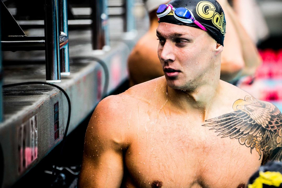 Caeleb Dressel No-Shows 100 Free, Won't Swim Any Primary Races at U.S. Open