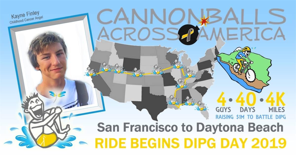 Cannonballs Across America Bike Ride Campaign Has Close Swimming Roots