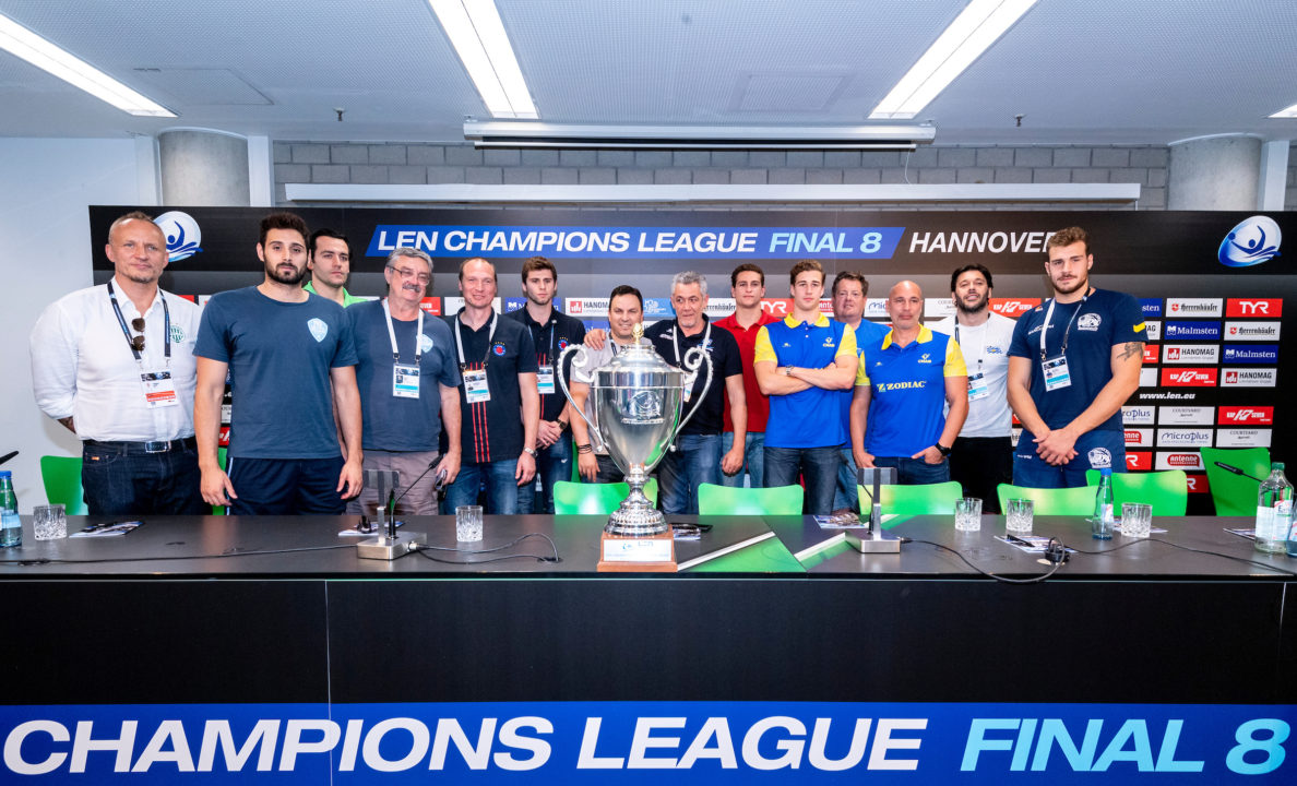 Water Polo Champions League Final Eight Kicks Off Thursday
