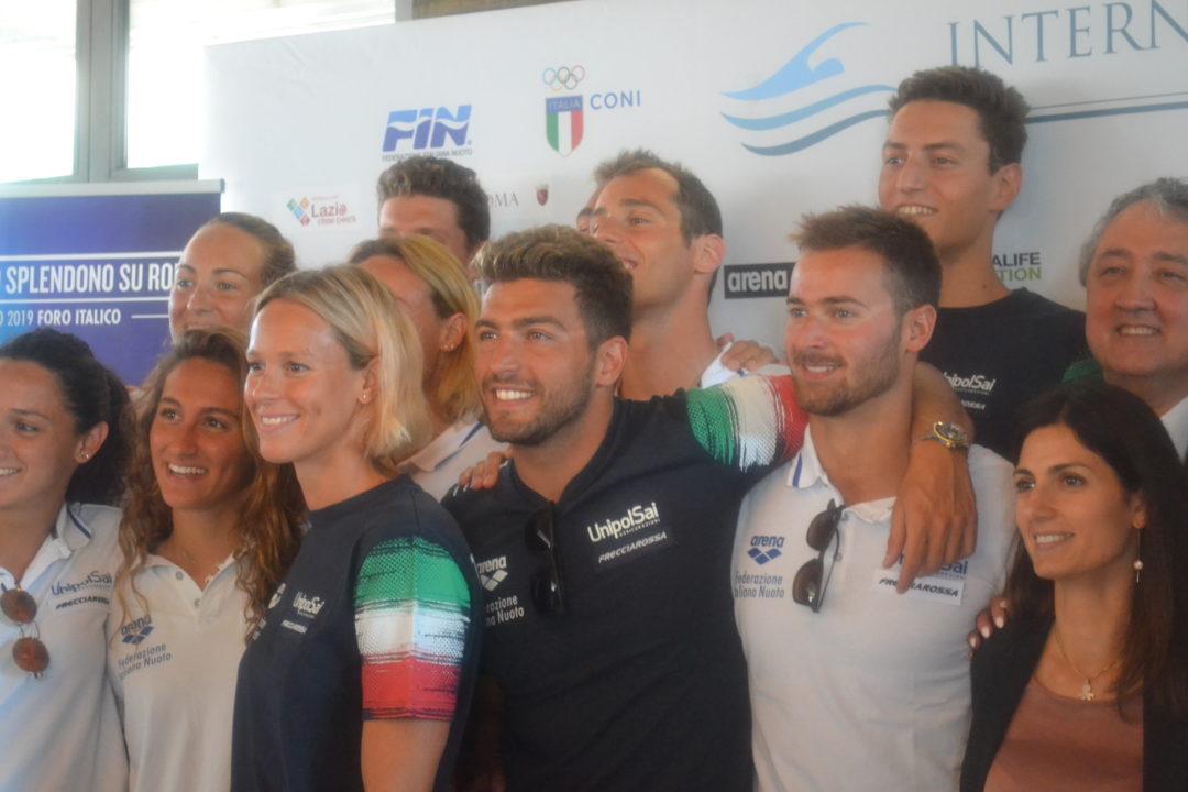 Paolo Barelli Annuncia La Candidatura Di Roma Per Gli Europei 2022