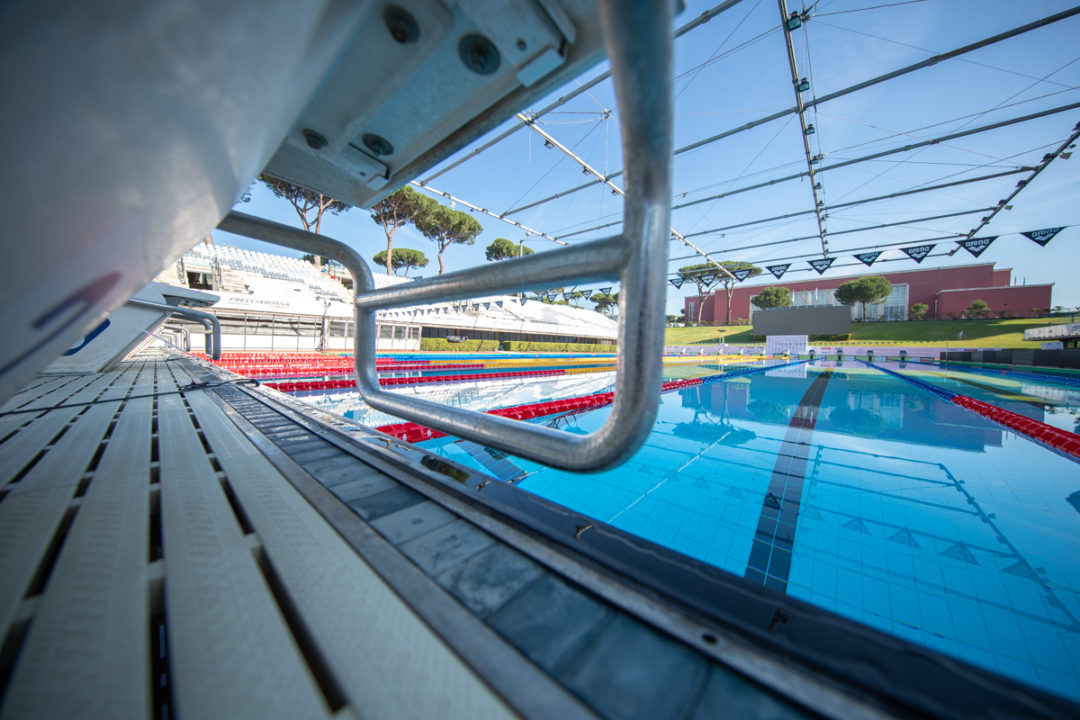 Lisa Mamie Breaks Swiss Record in 100 Breaststroke at Sette Colli