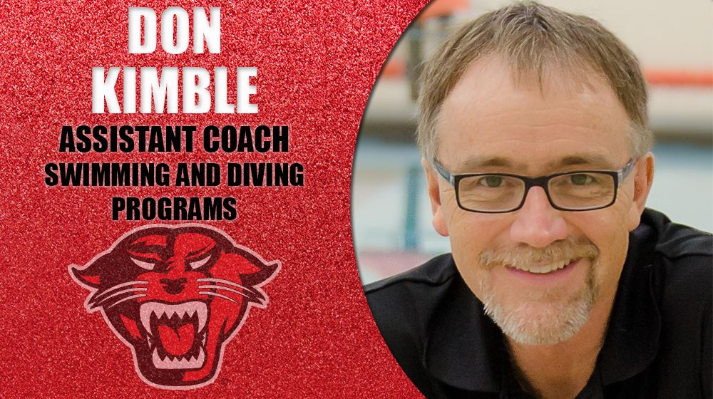 Davenport Names Don Kimble as Assistant Swimming & Diving Coach