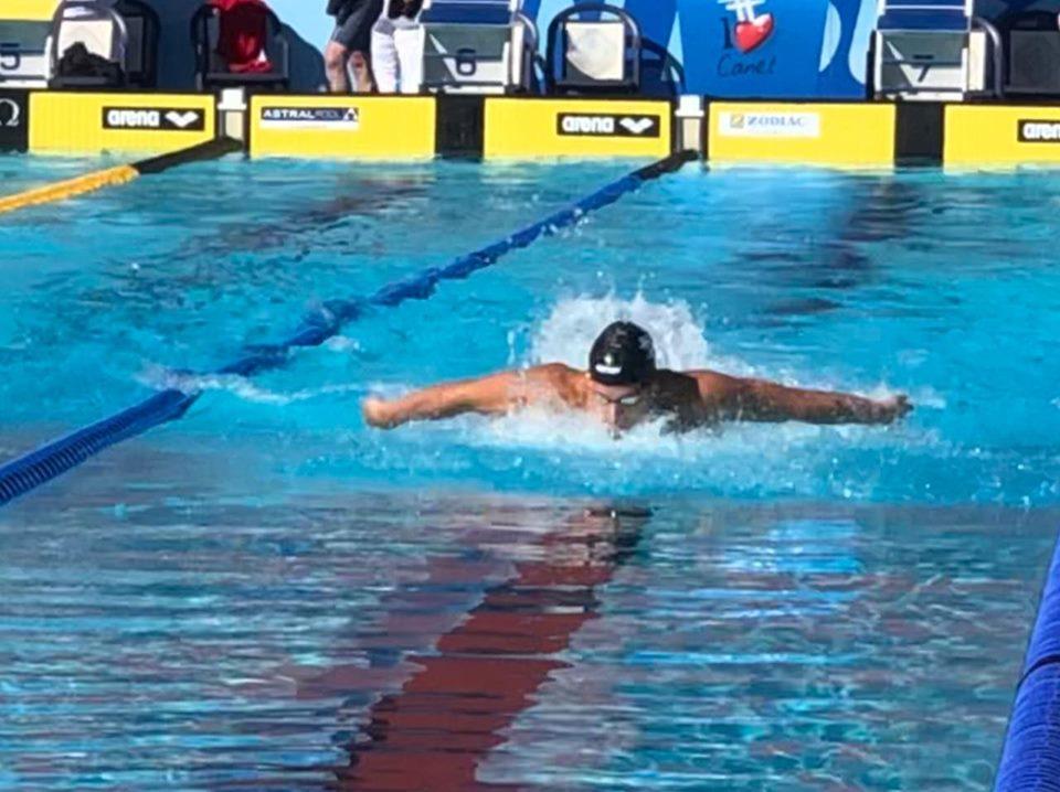 Santiago Grassi es el tercer nadador argentino clasificado a Tokio 2020
