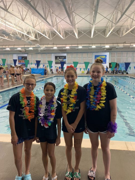 Marlins of Raleigh 10 & Unders Break Another National Age Group Record