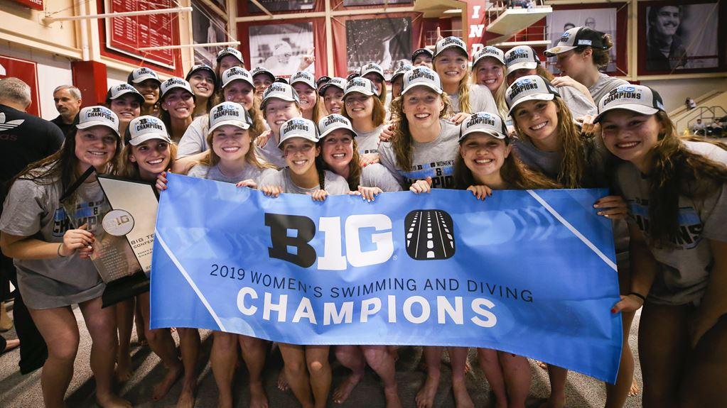 Iowa to Host 2020 Big Ten Women's Swimming & Diving Championships