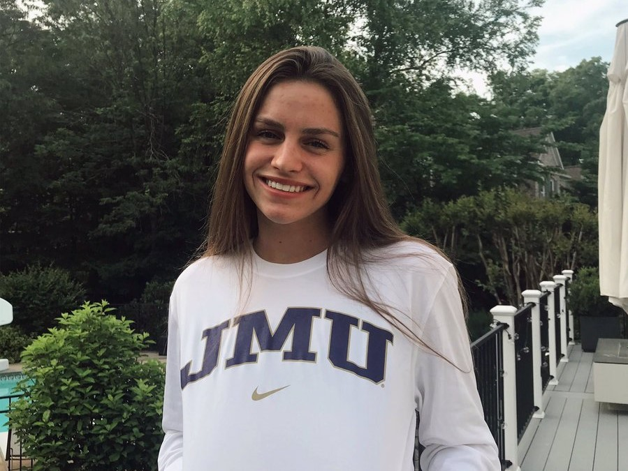 Emily Drakopoulos (2020) Announces Verbal Commitment to JMU