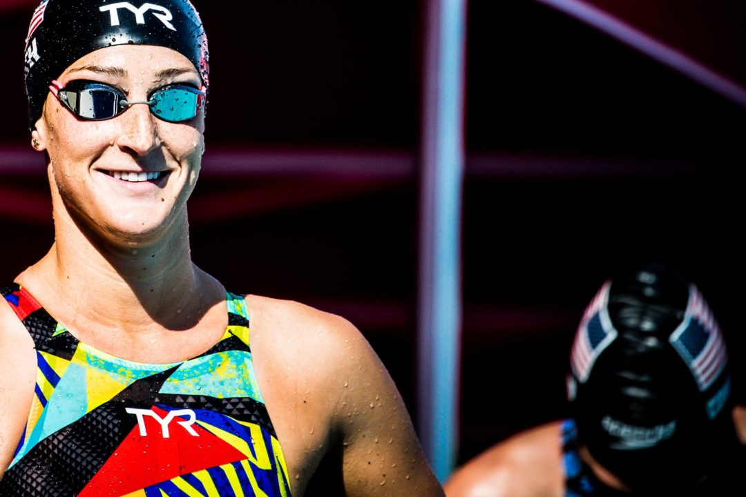 Leah Smith Talks Suited Swims with Arizona Pro Group (Video)