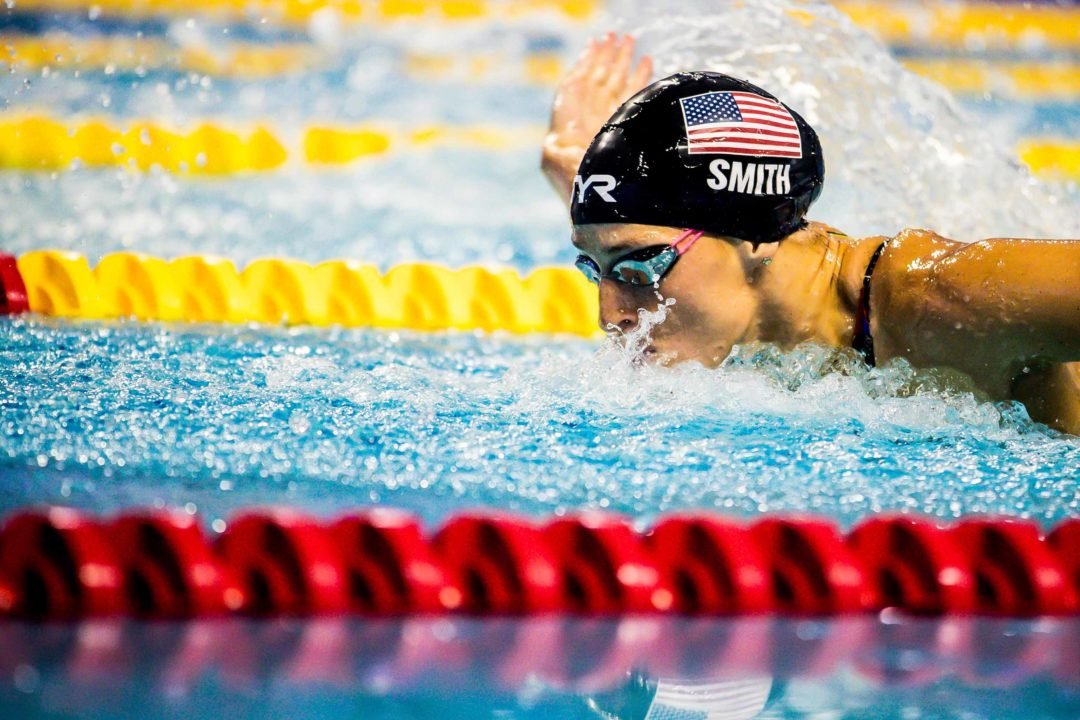 Competitor Swim Lane Lines Supports the FINA Champions Series Indianapolis