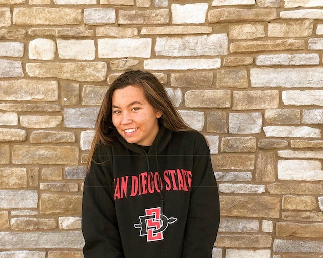 Osprey Aquatic's Mai McKenna Commits to San Diego State University