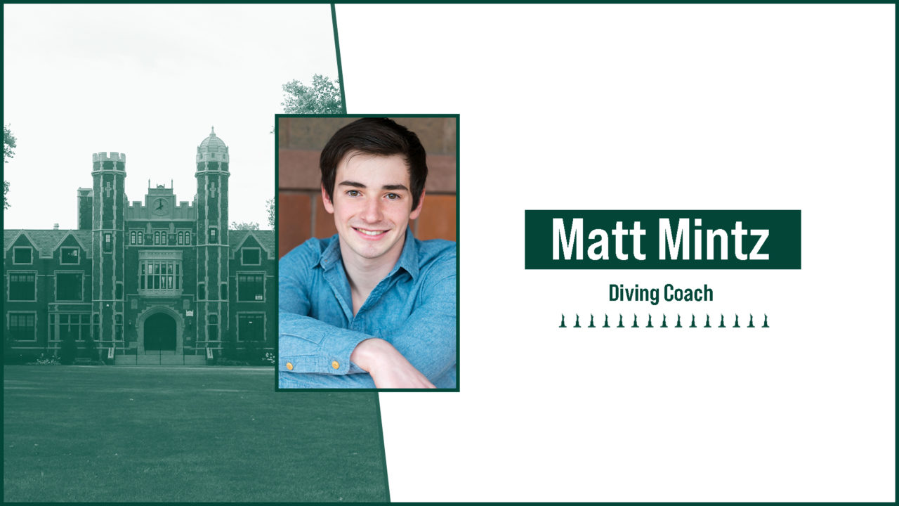 Wagner Names Matt Mintz as Diving Coach
