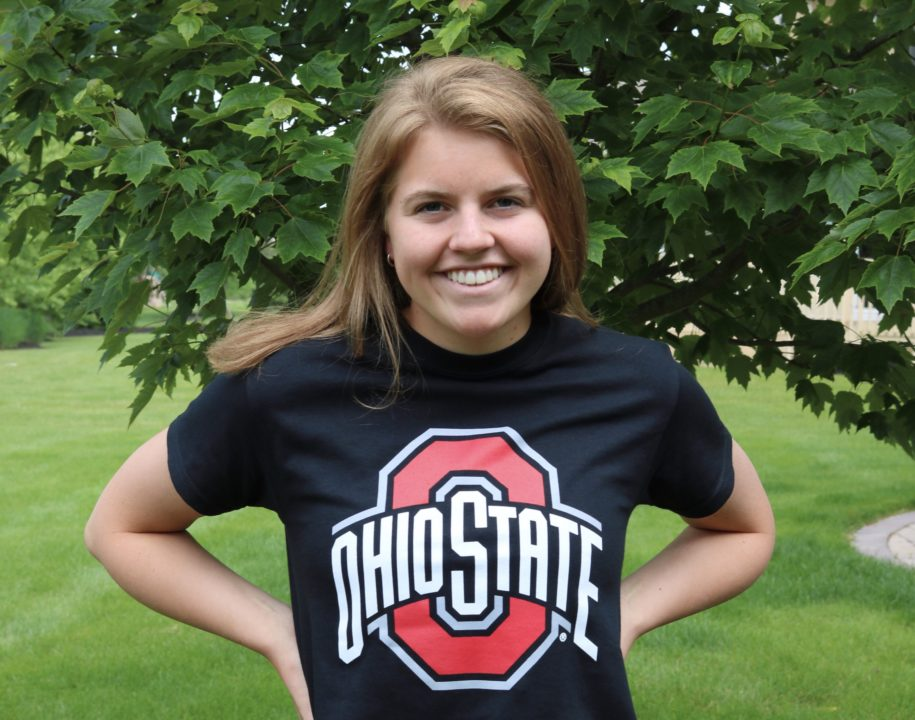 Distance Freestyler Maya Geringer Will Stay In State At Ohio State In 2020