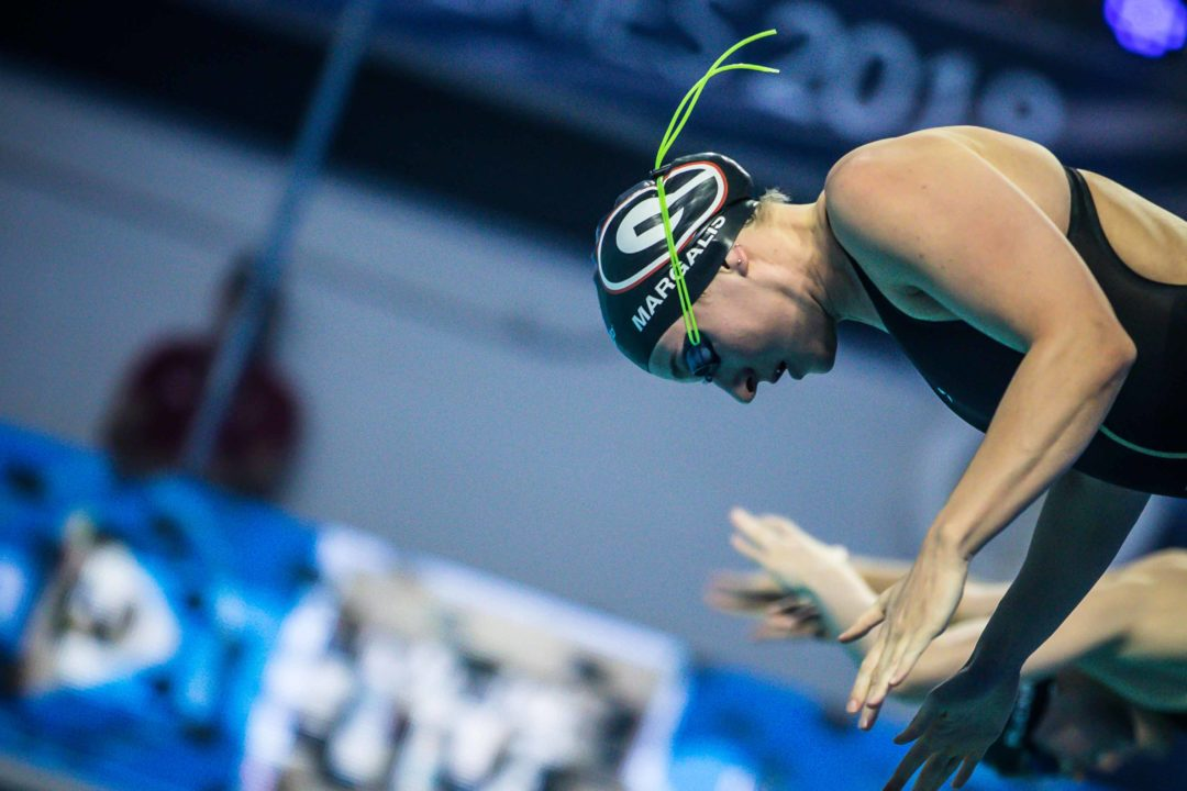 Melanie Margalis was Feeling Fresh After tough Month of Training (Video)