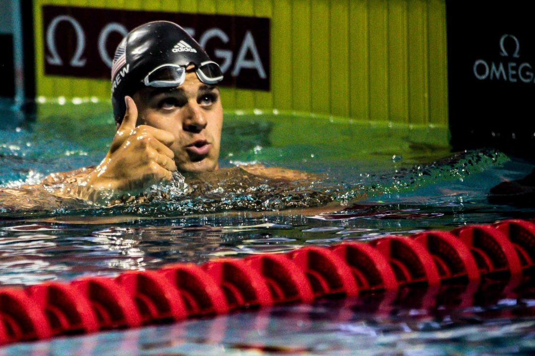 Andrew Clocks Another Sub-25 50 Back At Mare Nostrum – Barcelona Prelims