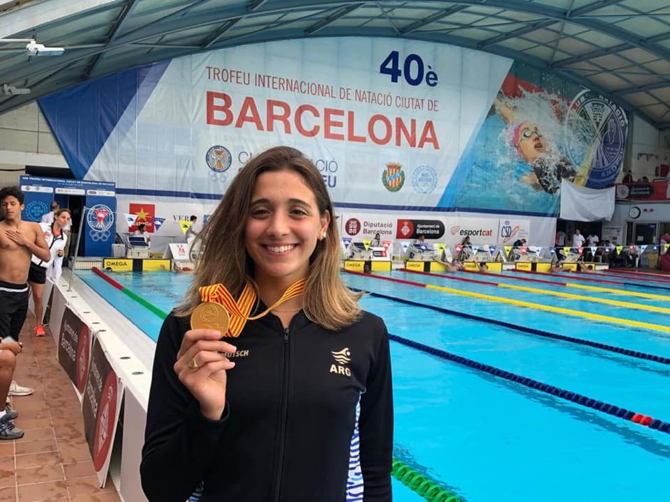 Pignatiello vuela en Barcelona: récord sudamericano de 1500 libre, top3 mundial
