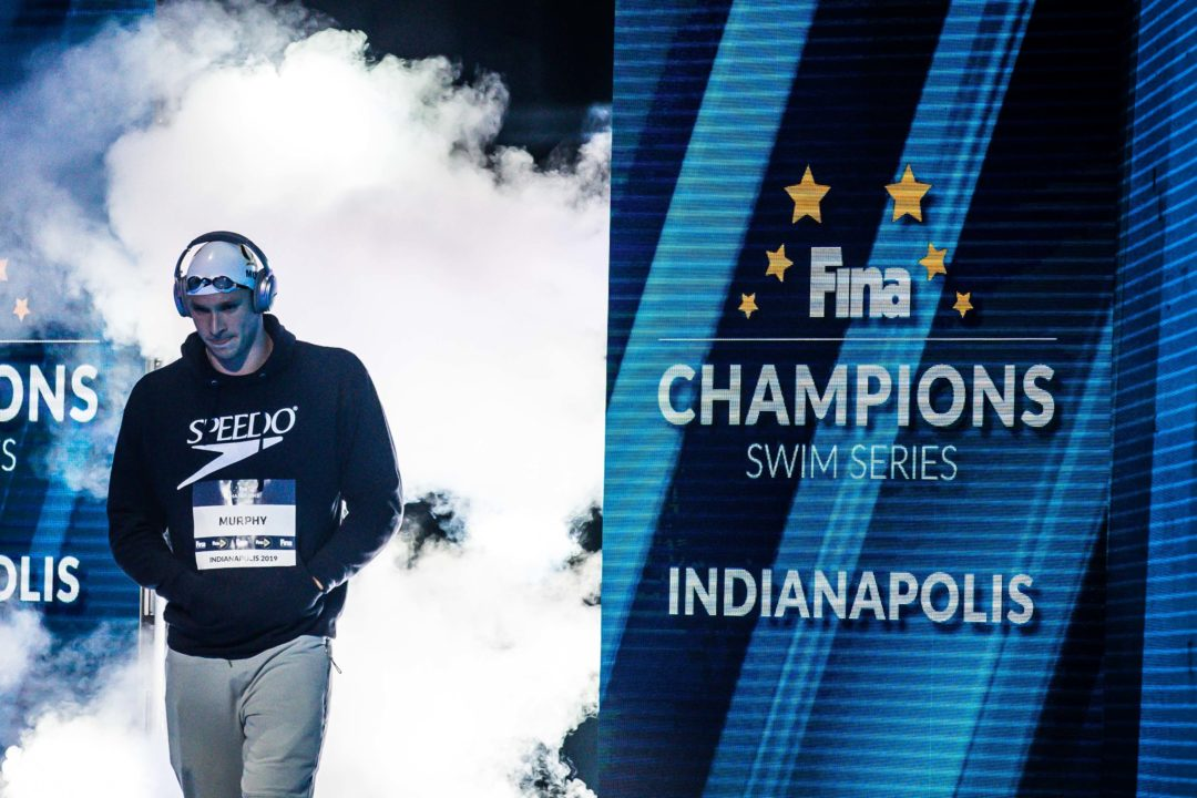 Ryan Murphy Shares Thoughts on FINA Champions Series (Video)