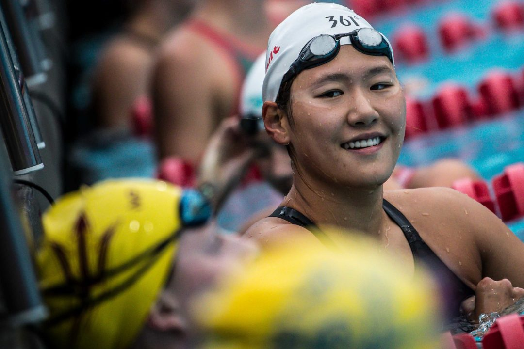 Ye Shiwen Produces Strong Front Half In 400 IM Win On Day 1 Of Chinese Nats