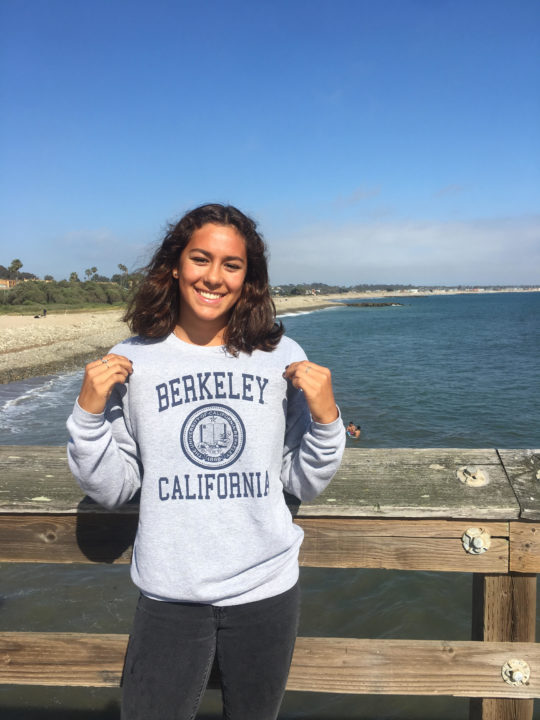 52.5 Backstroker Téa Laughlin Verbally Commits to Cal (Class of 2020)