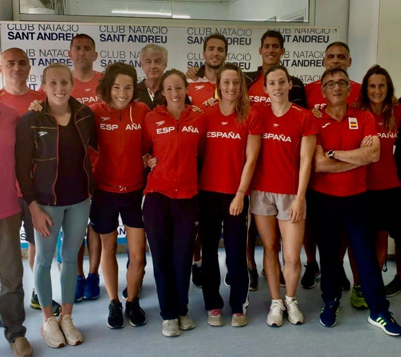 Spain announces 9 swimmer roster for World C'ships; Belmonte will swim 6 events