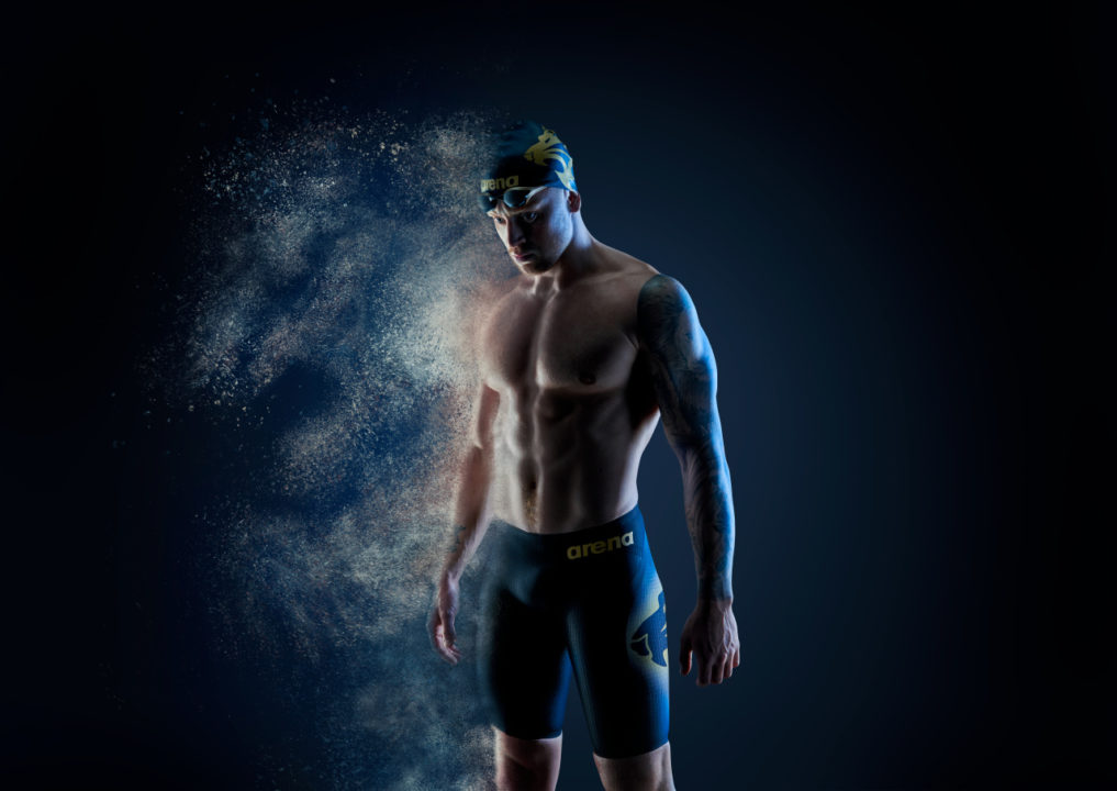 Loughborough Swimming Signs with Performance Swimwear Brand arena