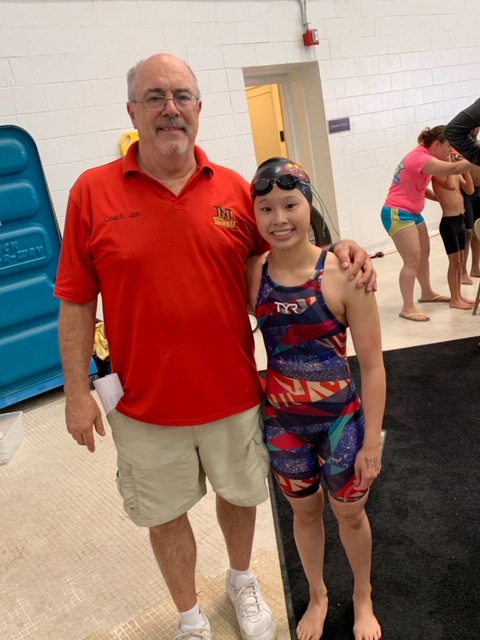 Levenia Sim Breaks Tracy Caulkins' 42-Year Old LSC Record in the 200 Fly
