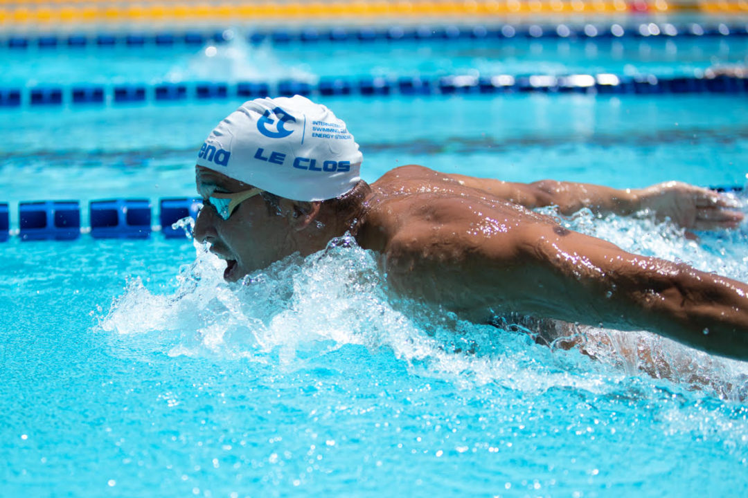 "Chad le Clos on New Generation of Butterfliers: ""For me it's a big challenge"""
