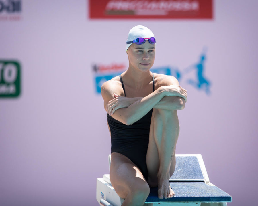 Blume's 24.31 Sets Up 50 Free Clash On Final Night In Marseille