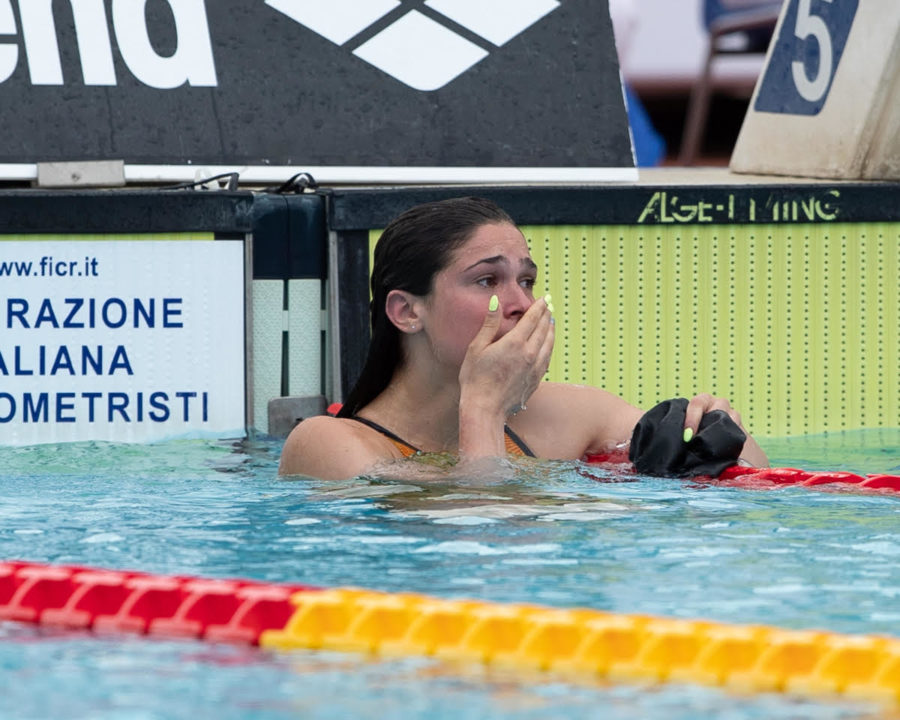 14-Yr-Old Pilato Nails Italian Record In 50 Breast, 13th Fastest All-Time