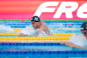 Brazilian Trials Day 1 Prelims: 5 Men Get Within A Second Of 100 Breast Cut