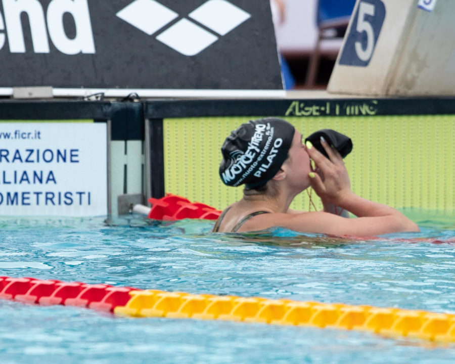 Italy's Pilato Produces First Euro Junior C'ships Record On Day 1 Prelims