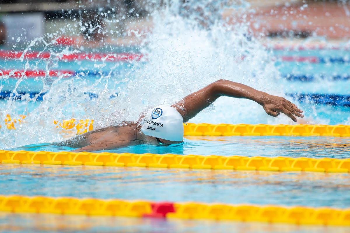 Brazil Breaks Pan American Games Record in Men's 4x200 Free