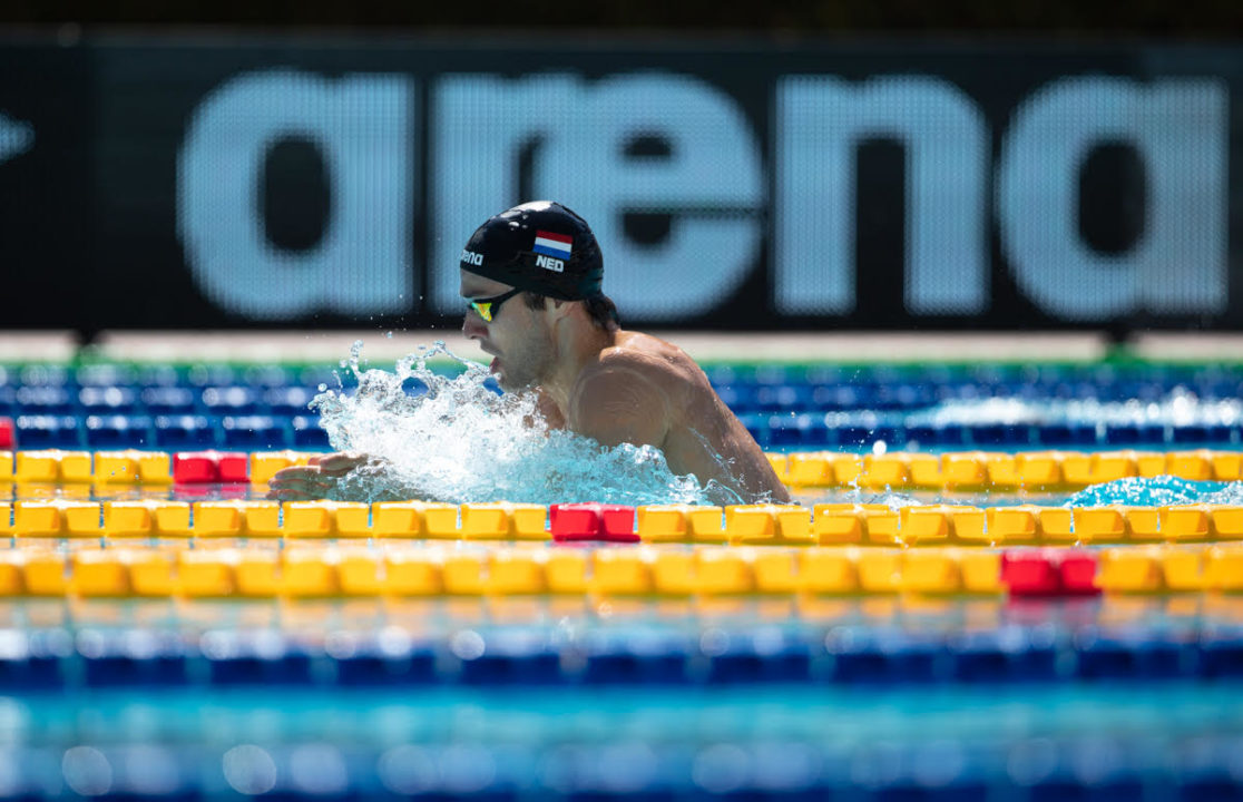 Kamminga Clocks 56.91 Short Course 100 Breast In Denekamp