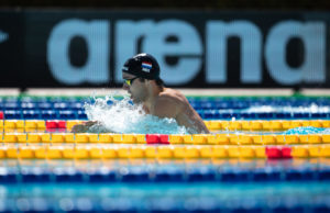 Kamminga Slices .02 Off His Own Dutch 50 Breast NR In Heats