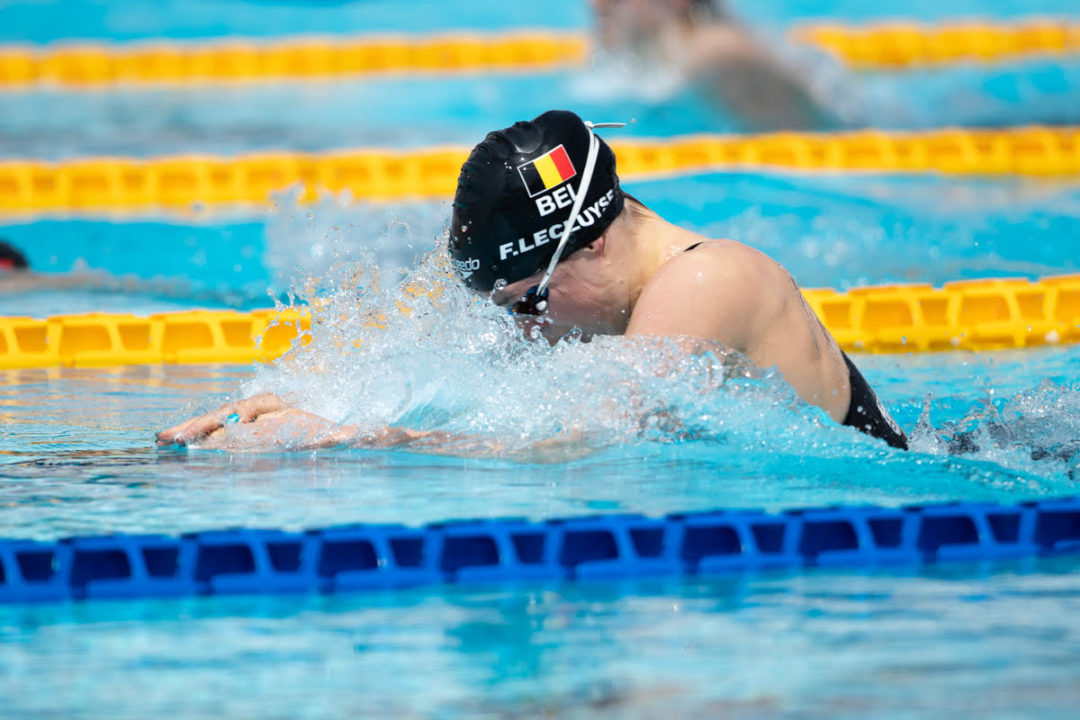 Fanny Lecluyse Edges Out Belgian Record In 100 Breast Prelims