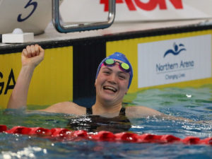 16-Year-Old Erika Fairweather Throws Down 4:07 400 Free At Vic Open Day 2