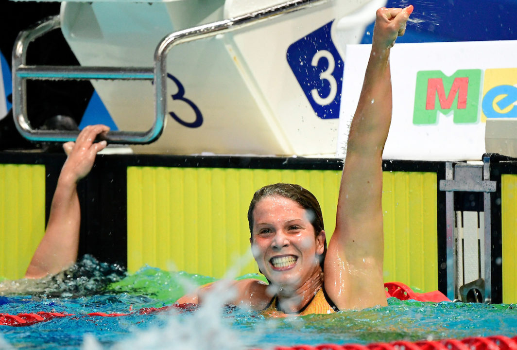 Bronze Medalist Giulia Salin Scratches 400 Free on Day 4 at FINA World Juniors
