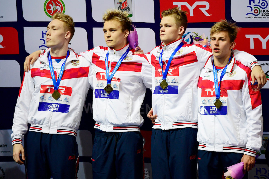 Russia Dominates European Junior C'ships, Points Trophy
