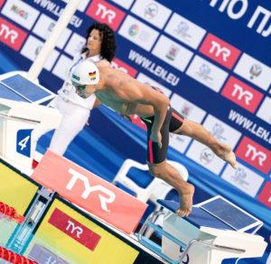 WATCH: Artem Selin's European Junior Record in the 50 Free
