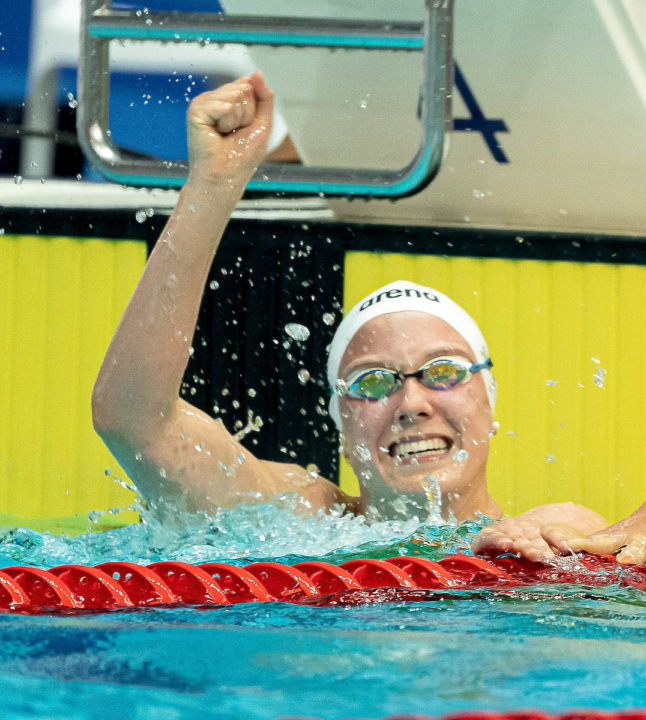 Magdeburg: Isabel Gose Vicina Al PB Nei 200 Stile-Report Day 2