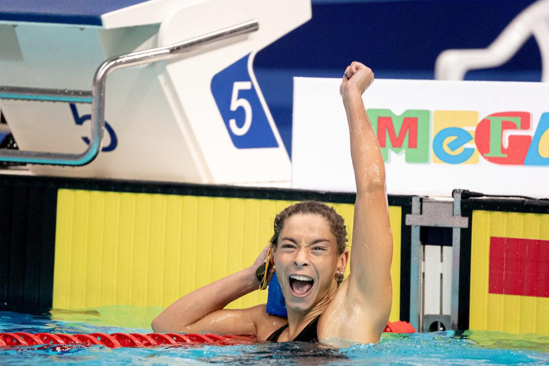 Campionati Europei Juniores Kazan: Erika Gaetani Argento 100 Metri Dorso