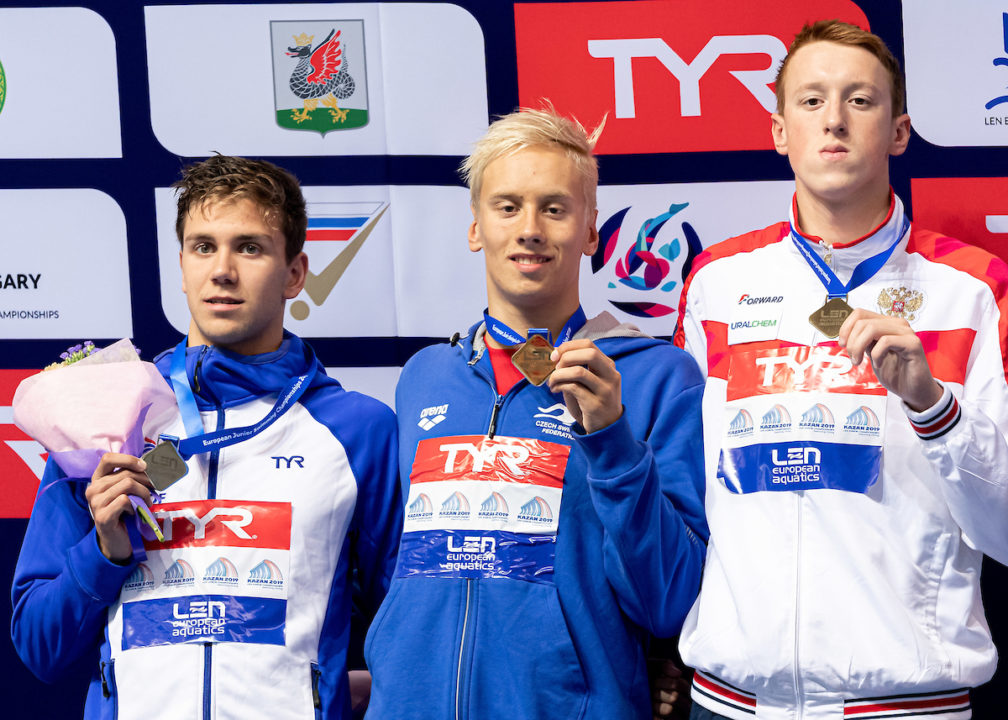 Tomac Lowers Own French Age Record For 17-Year-Olds With 54.17 100 Back