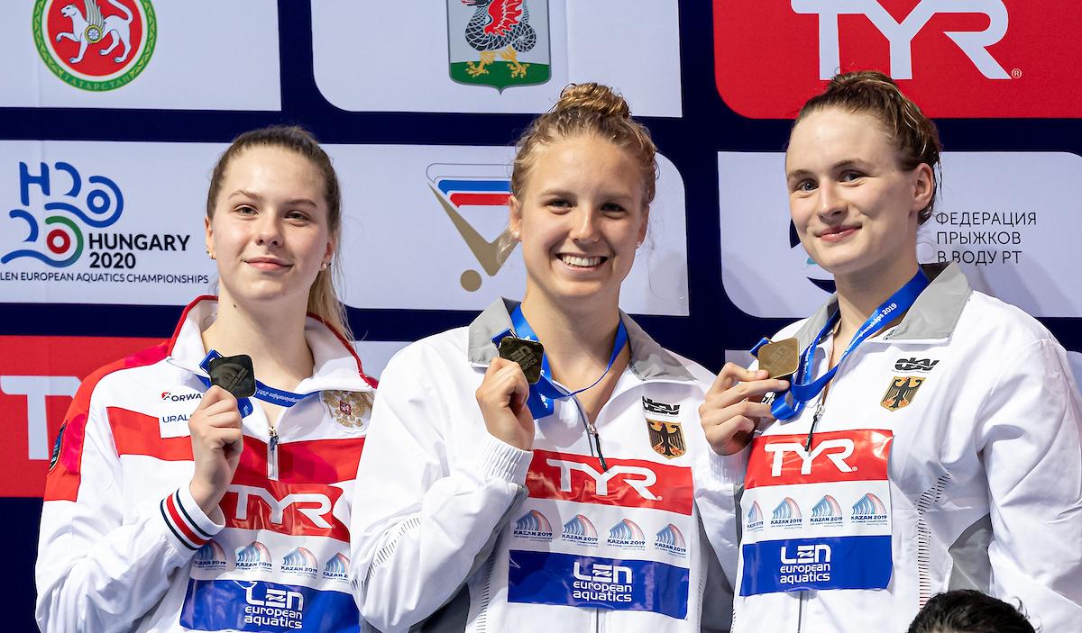 Junioren-EM: Selin, Schubert, Tobehn im Halbfinale, 4×200, 4×100 im Finale