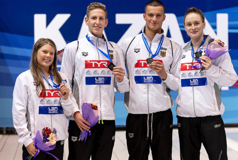 Junioren-EM: Zoe Vogelmann holt sich Gold über 200 m Lagen