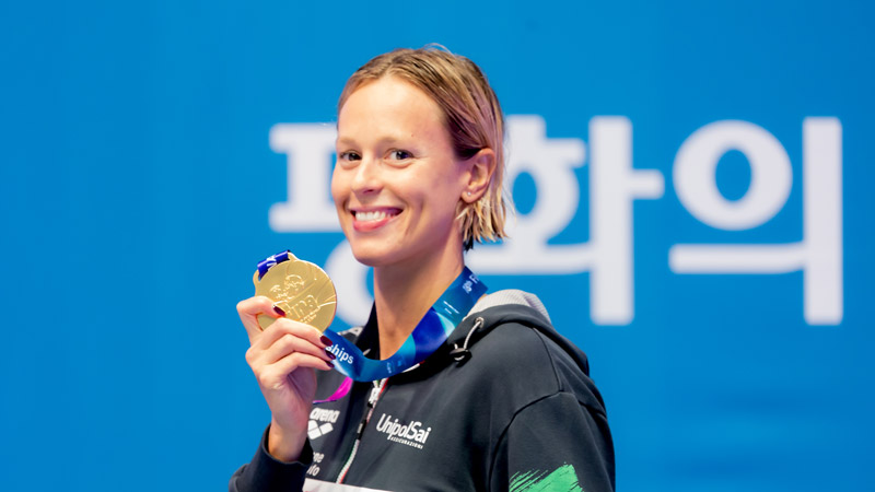 Federica Pellegrini Finishes Last World Champs As 9th-Most Decorated Swimmer