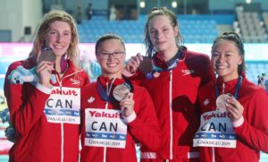 16 Canadians Have been Under The FINA A Throughout 3 Most Recent Swim Season