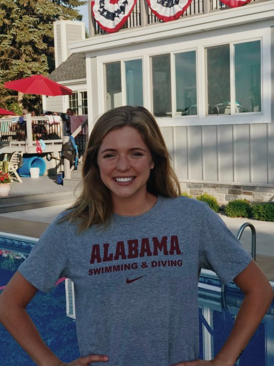 NCAA Division III Runner-Up Meg Peel Transfers to Alabama