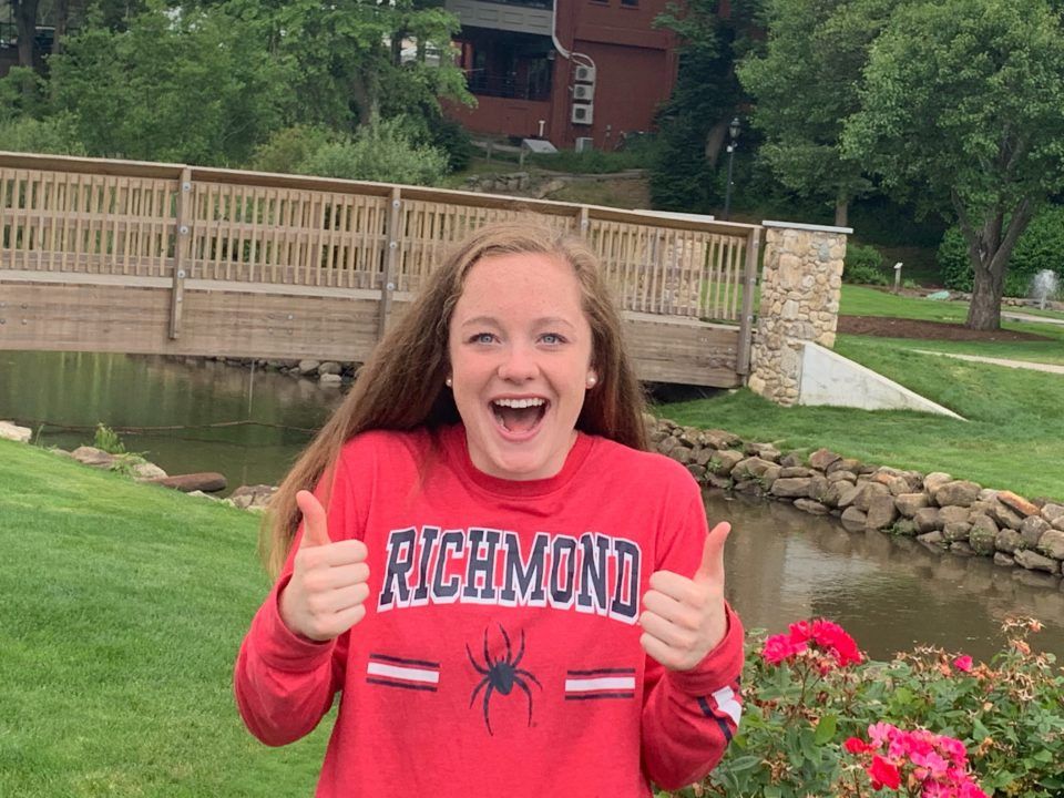 Distance swimmer Alexa Connors makes verbal commitment to Richmond for 2020