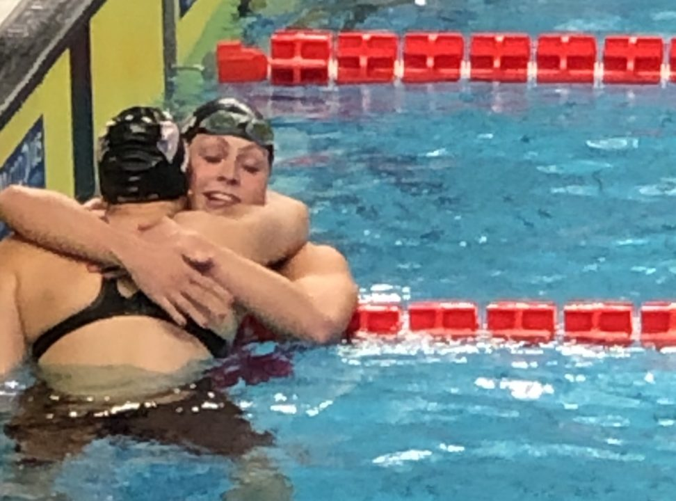 Katharine Berkoff on WUGs 100 Back Record, Italy as Host (Video)