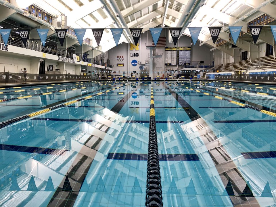 Aaronson Swims Michigan's 10th Fastest 100 Back Ever at First Chance Meet